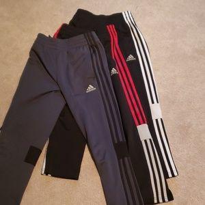 3 Pair Boys Adidas Joggers Size 8